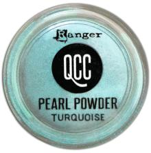Ranger Quick Cure Clay Pearl Powder - Turquoise
