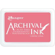Ranger Archival Ink Pad - Coastal Coral