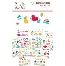 Simple Stories 4x6 Sticker Book - Best Year Ever