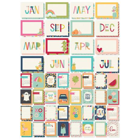 Simple Stories Snap Cards - Best Year Ever