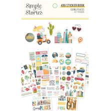 Simple Stories 4x6 Sticker Book - Going Places