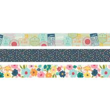 Simple Stories Washi Tape 3/Pkg - Going Places