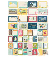 Simple Stories Snap Card Pack 72/Pkg - Going Places