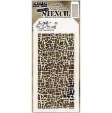 Tim Holtz Layered Stencil 4.125X8.5 - Tangled