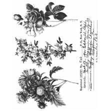 Tim Holtz Cling Stamps 7X8.5 - Flower Shop