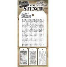 Tim Holtz Mini Layered Stencil Set 3/Pkg - Set 48