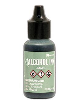 Tim Holtz Alcohol Ink 14ml - Moss