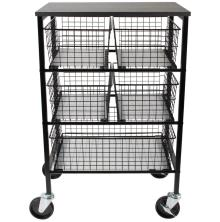 Tim Holtz Utility Basket Storage Cart