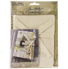 Tim Holtz Idea-Ology 4X6 - Fabric Journal