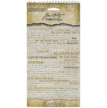 Tim Holtz Idea-Ology 4,5X8,75 622/Pkg - Clipping Stickers Book