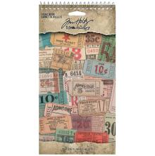 Tim Holtz Idea-Ology Book 335/Pkg - Ticket