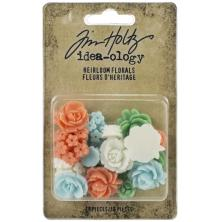 Tim Holtz Idea-Ology 16/Pkg - Heirloom Florals