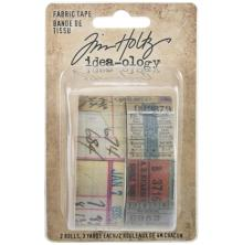 Tim Holtz Idea-Ology 2/Pkg - Fabric Tape