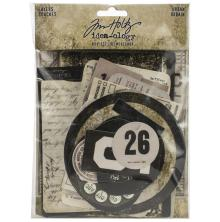 Tim Holtz Idea-Ology 65/Pkg - Layers Urban