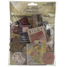 Tim Holtz Idea-Ology Baseboards 40/Pkg - Junk Drawer