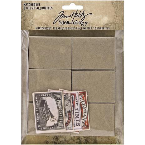 Tim Holtz Idea-Ology 18/Pkg - Matchboxes