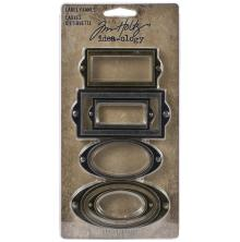 Tim Holtz Idea-Ology 6/Pkg - Label Frames