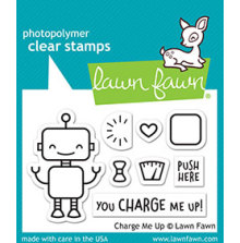 Lawn Fawn Clear Stamps 3X2 - Charge Me Up