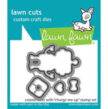 Lawn Fawn Custom Craft Die - Charge Me Up