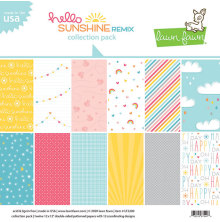 Lawn Fawn Collection Pack 12X12 - Hello Sunshine Remix