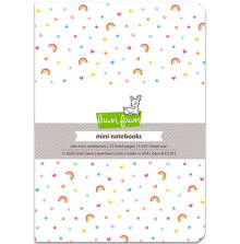 Lawn Fawn Mini Notebooks 3.5X5 2/Pkg - Hello Sunshine Remix