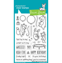 Lawn Fawn Clear Stamps 4X6 - Really High Five