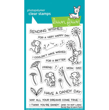 Lawn Fawn Clear Stamps 4X6 - Dandy Day