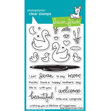 Lawn Fawn Clear Stamps 4X6 - Swan Soiree