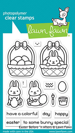 Lawn Fawn Clear Stamps 3X4 - Easter Before ´n Afters