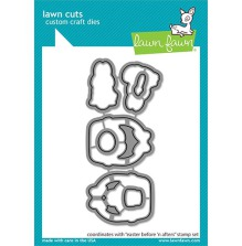 Lawn Fawn Custom Craft Die - Easter Before ´n Afters