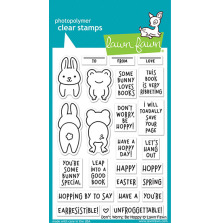 Lawn Fawn Clear Stamps 4X6 - Don´t Worry Be Hoppy