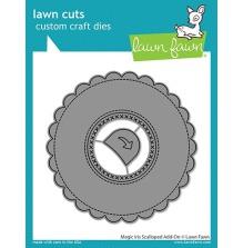 Lawn Fawn Custom Craft Die - Magic Iris Scalloped Add-On