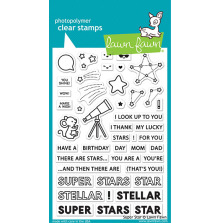Lawn Fawn Clear Stamps 4X6 - Super Star