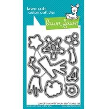 Lawn Fawn Custom Craft Die - Super Star