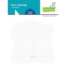 Lawn Fawn Stencils - Cloudy
