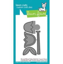 Lawn Fawn Custom Craft Die - Reveal Wheel Tulip Add-On