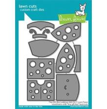Lawn Fawn Custom Craft Die - Tiny Gift Box Ladybug Add-On