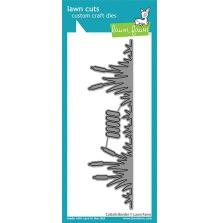 Lawn Fawn Custom Craft Die - Cattails Border
