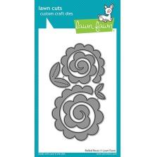 Lawn Fawn Custom Craft Die - Rolled Roses