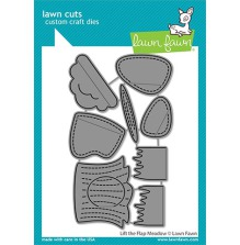 Lawn Fawn Custom Craft Die - Lift the Flap Meadow