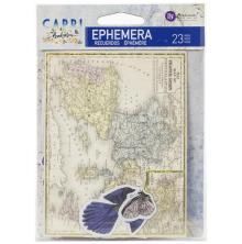Prima Capri Ephemera 23 /Pkg