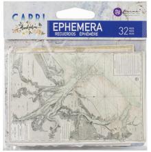 Prima Capri Ephemera 32/Pkg