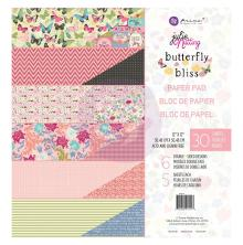 Prima Double-Sided Paper Pad 12X12 30/Pkg - Butterfly Bliss - Loving Life