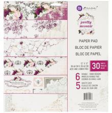 Prima Double-Sided Paper Pad 12X12 30/Pkg - Pretty Mosaic