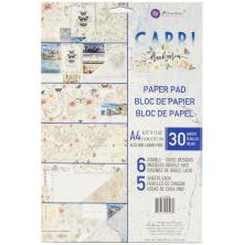Prima Double-Sided Paper Pad A4 30/Pkg - Capri