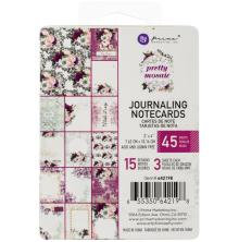 Prima Journaling Cards 3X4 45/Pkg - Pretty Mosaic