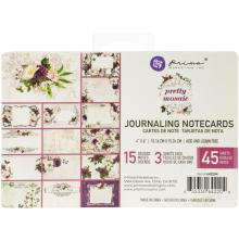 Prima Journaling Cards 4X6 45/Pkg - Pretty Mosaic