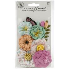 Prima Surfboard Mulberry Paper Flowers 12/Pkg - Endless Summer