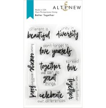 Altenew Clear Stamps 4X6 - Better Together