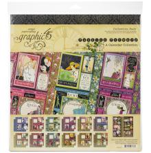 Graphic 45 Collection Pack 12X12 - Fashion Forward